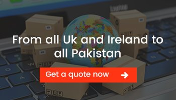 Door to Door Cargoto Pakistan from Ireland